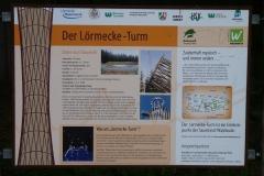 Schautafel Lörmecke-Turm