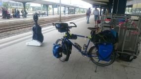 Abfahrt am Bielefeld Hbf